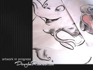 Dumbo WDCC sculpts art