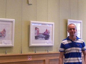 Douglas Rickard's second art exhibition of the summer
