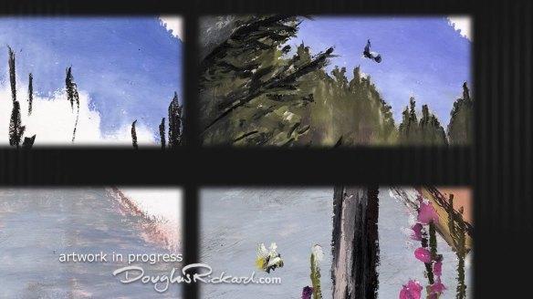 Yellowstone art in progress