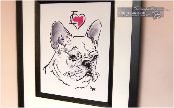 I Love My French Bulldog By Douglas Rickard