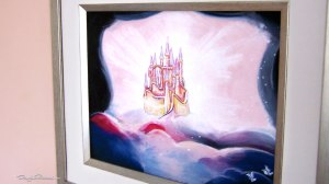 Framed art 'Castle of Snow White' by Douglas Rickard