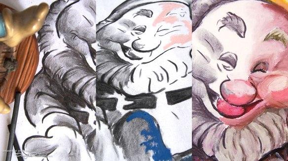 7 dwarfs drawings