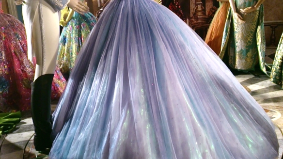Cinderella 2015 Sandy Powell Dress