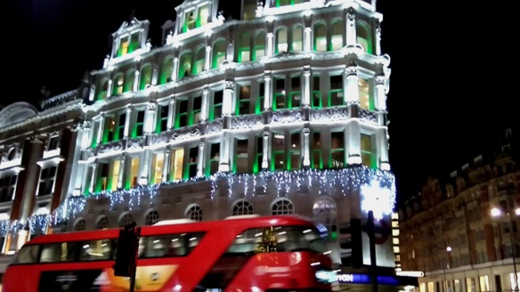 London Christmas lights 2015