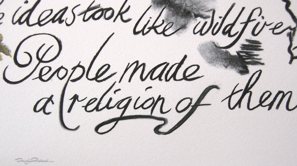 Charles Darwin religion quote