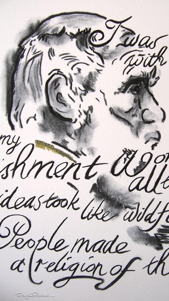 Words of Charles Darwin
