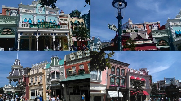 Main Street USA Disneyland Paris 2016