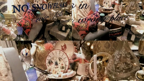 Anthropologie Christmas windows Regent Street London 2016