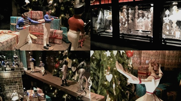 Libertys of London Christmas windows 2016