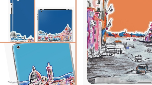 Italian Modern Art iPad cases and skins