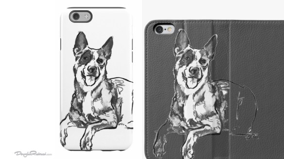 Blue Heeler iPhone cases and wallets
