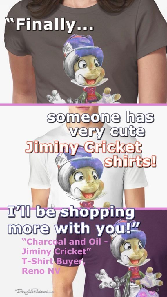 Jiminy Cricket Tees
