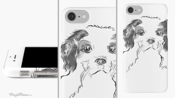 Cavalier King Charles Spaniel Puppy iPhone Cases and Skins