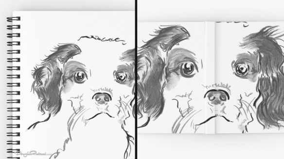 Cavalier King Charles Spaniel Puppy Notebooks
