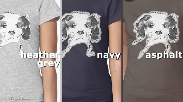 Cavalier King Charles Spaniel Puppy Womens Fitted T-Shirts