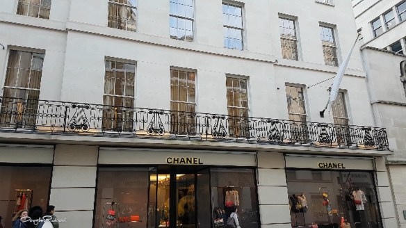Chanel on New Bond Street