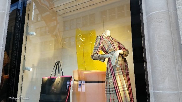 Spring 2018 Burberry windows