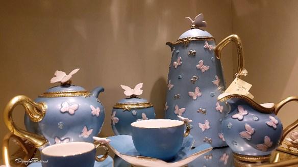 Blue Tea Set by Villari