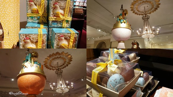 Easter displays at Fortnum and Mason