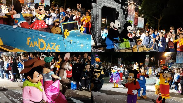 Disney FanDaze Paris Inaugural Party Parade