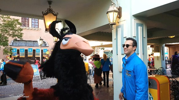 Kuzco the Llama at Disney FanDaze
