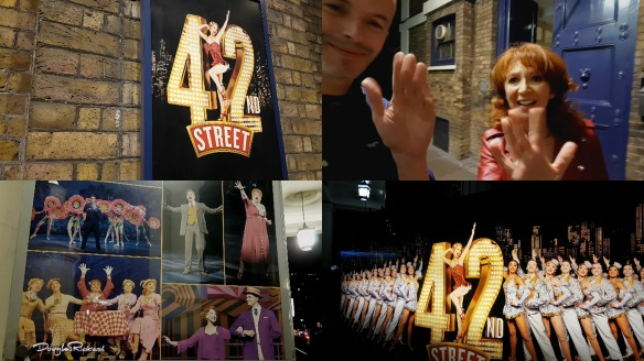 Douglas Rickard meets Bonnie Langford from 42nd Street
