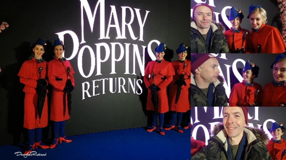 Douglas Rickard at the Mary Poppins Returns European Premiere