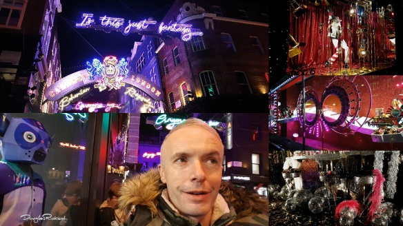 Douglas Rickard rocks Christmas lights in London 2018 with Elton John Bohemian Rhapsody and Selfridges