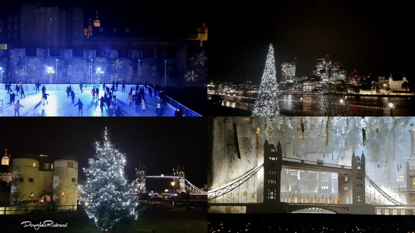 London Tower Bridge at Christmas