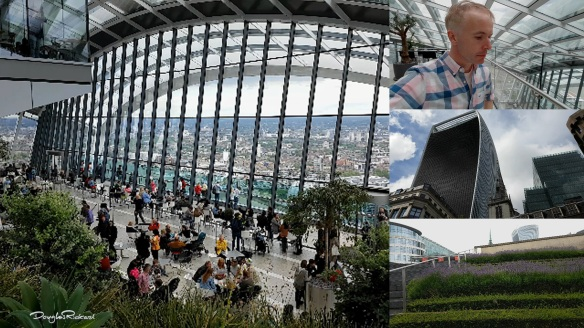 Douglas Rickard vlogs the Sky Garden London