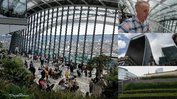 Douglas Rickard vlogs the Sky Garden London